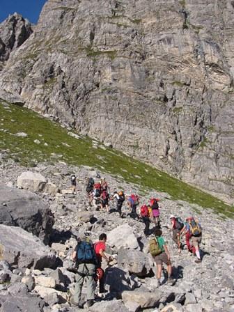 Corso di escursionismo