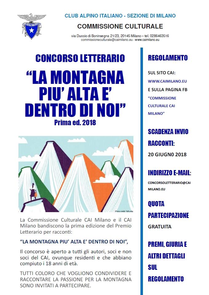 Locandina CONCORSO LETTERARIO 3apr2018 def