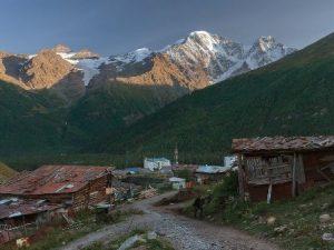 Terskol village